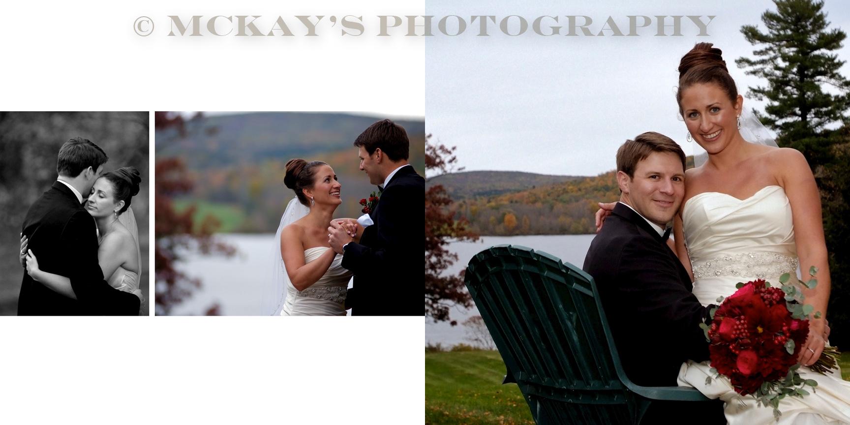 Fall Fontainebleau Inn wedding photos