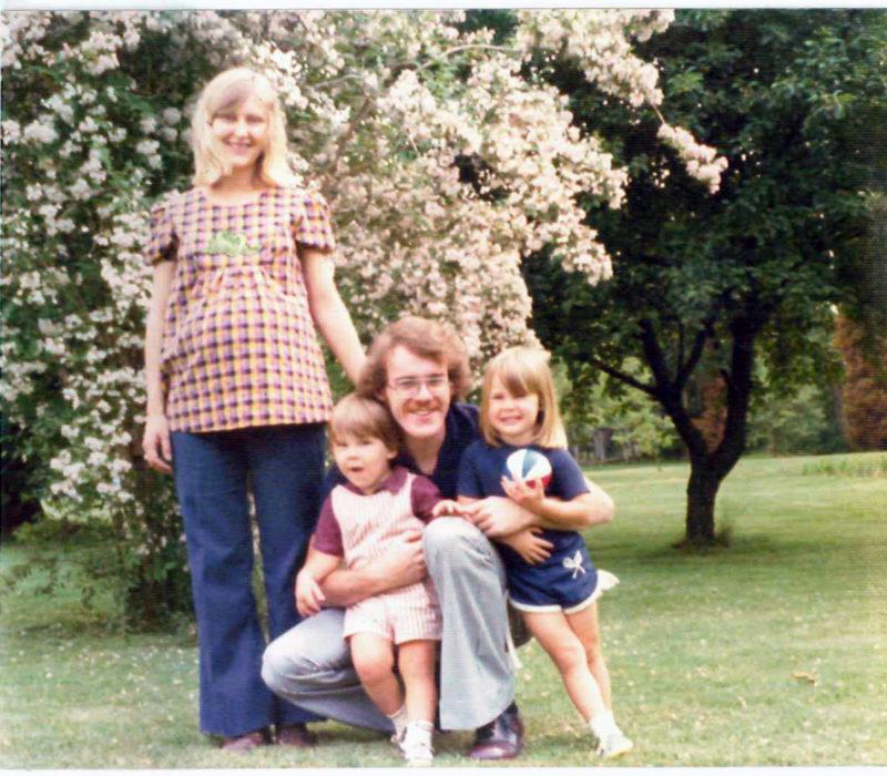 Vintage 1970s family photos