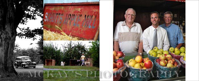 Schutt's Apple Mill three generations of farmers