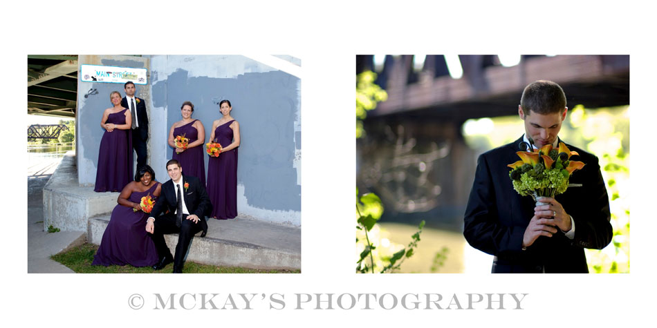 Rochester wedding photographer, Heather McKay, creates sustainable wedding albums for her Bride and Groom's heirloom wedding photography at Locust Hill.