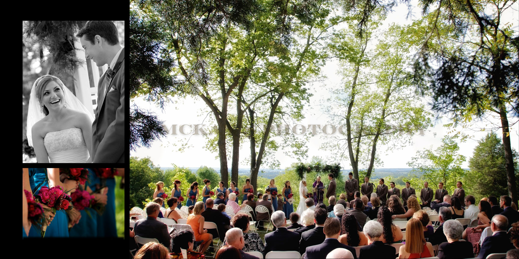 outdoor wedding ceremony locations near Rochester and Buffalo