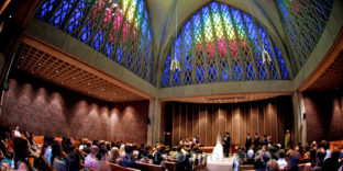 University of Rochester Interfaith Chapel wedding photos