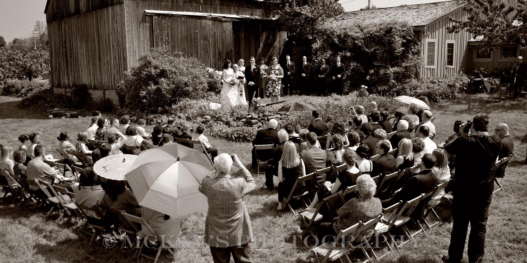 Hurd Orchards is a barn wedding venue near Rochester and Buffalo NY
