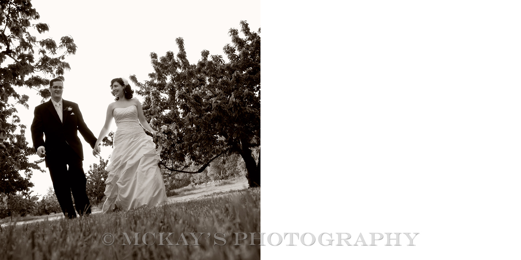 Top Buffalo and Rochester Wedding Photographer creates eco-friendly wedding albums for rustic barn weddings in Upstate NY at Hurd Orchards fruit farm