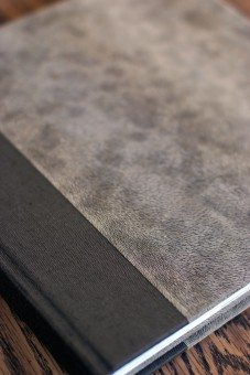 Handmade eco friendly wedding books by Artisan Craftsman Books