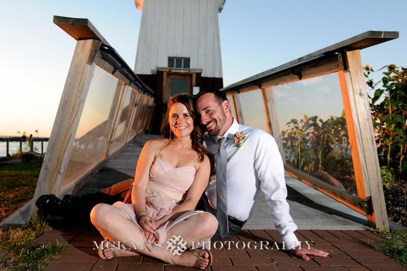 Lake Ontario Wedding: Black North Inn Photos by McKay's Photography