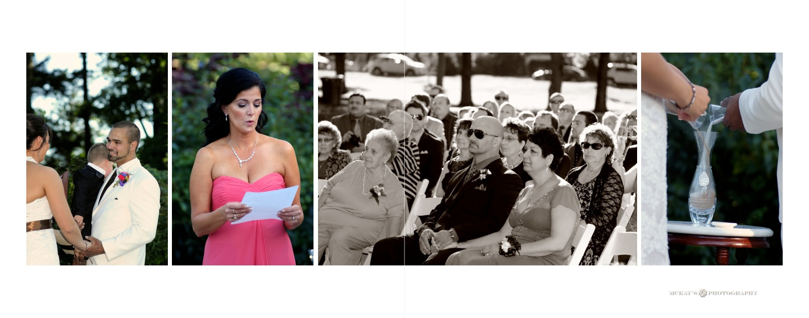 outdoor Syracuse wedding locations at Hoopes Park in Auburn by McKay's Photography