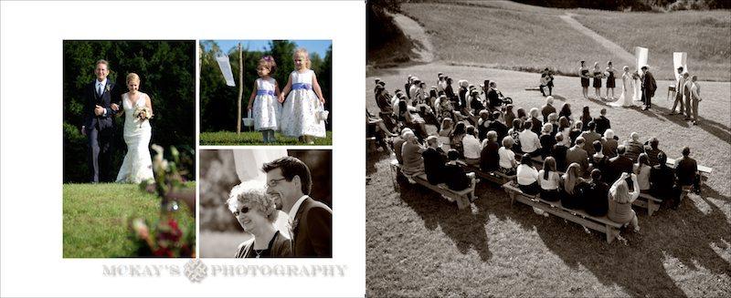 family farm wedding photos under a tent in Victor NY