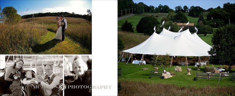 Modern Eco-friendly Rustic Farm Wedding Album by McKay's Photography