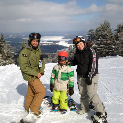 snowboarding portraits