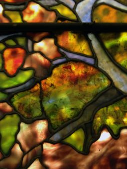 Tiffany Stained Glass window detail