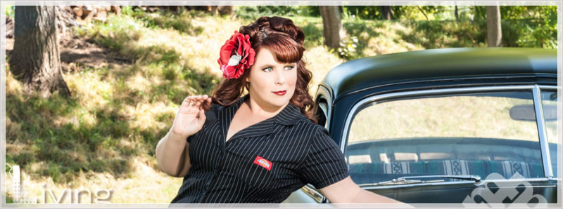 Rochester Pin-Up Photos with classic car