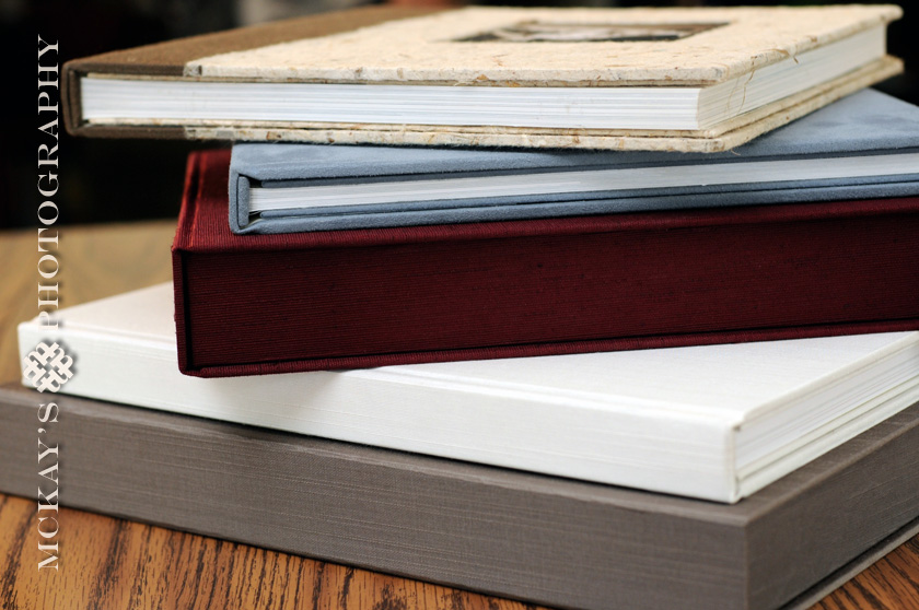 eco-friendly wedding albums and books