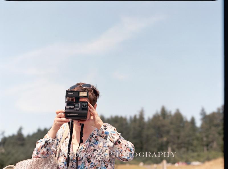 Medium Format film Wedding Photos by Heather McKay on Cannon Beach, Oregon