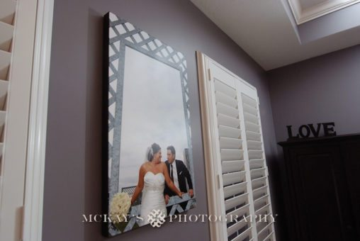 wedding pictures on canvas