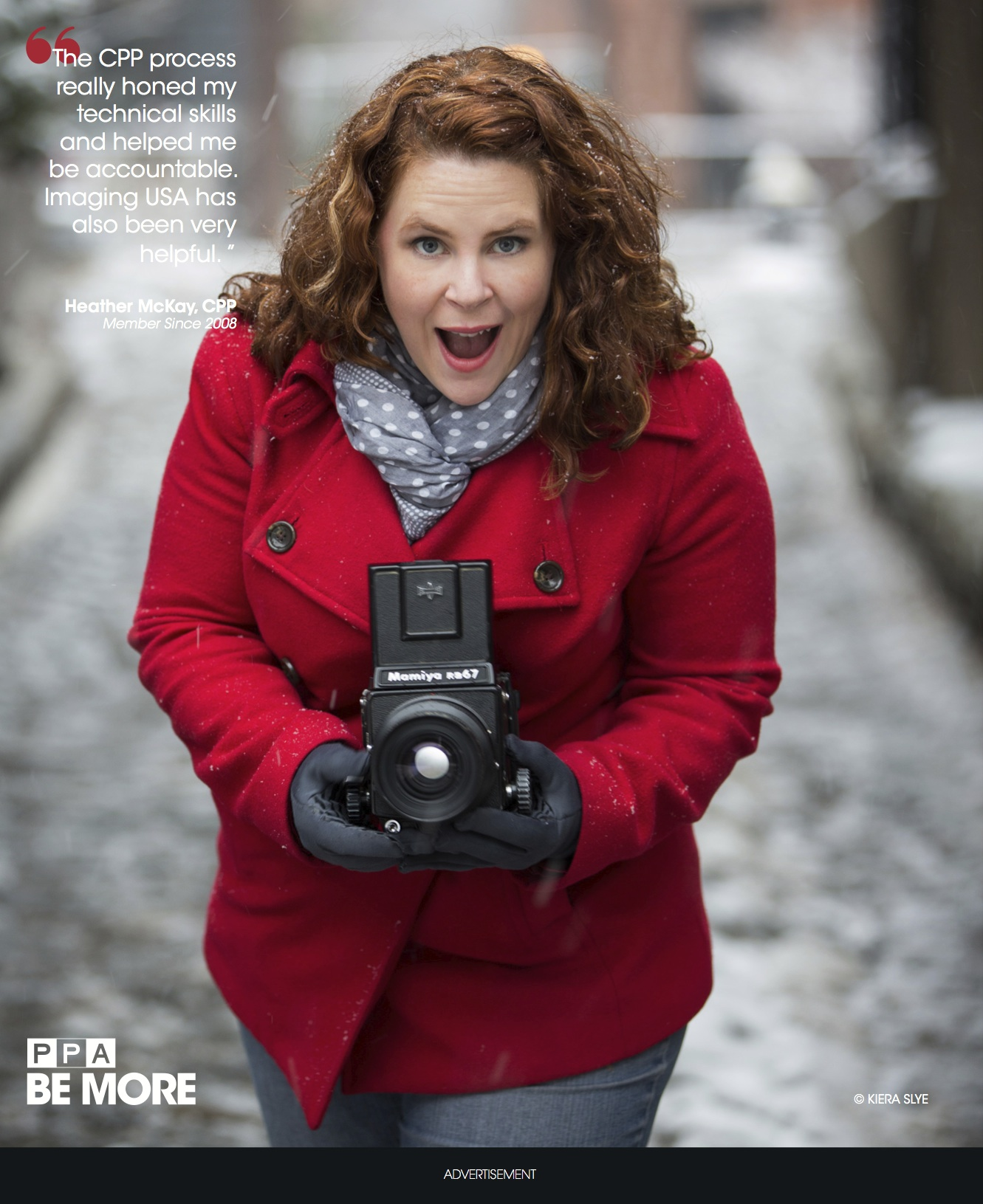 faces of PPA campaign in Professional Photographer Magazine