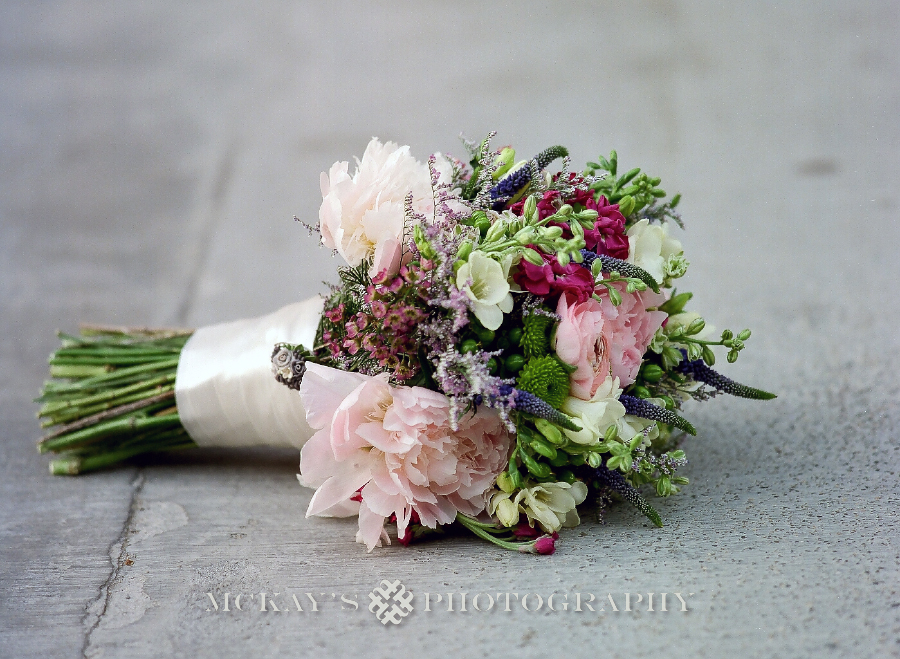 wedding bridal bouquet Fine Art Boston Film Wedding Photography
