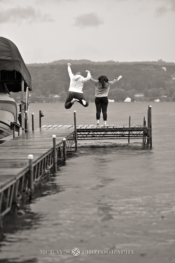 Same Sex weddings and Finger Lakes engagement photos on Keuka Lake with Marissa and Caitlin