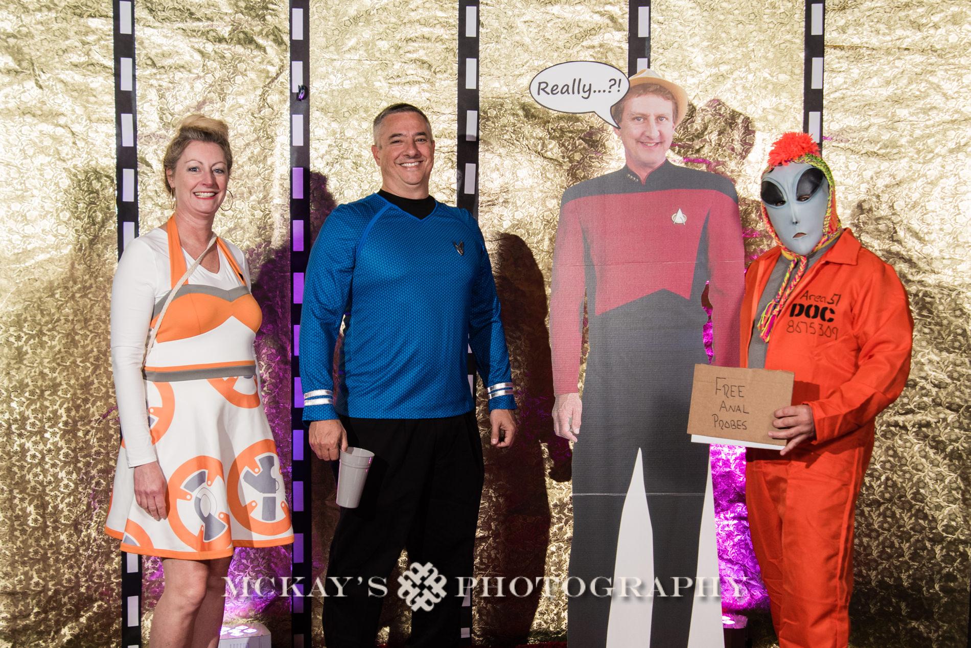 RMSC planetarium birthday party for Star Trek fans