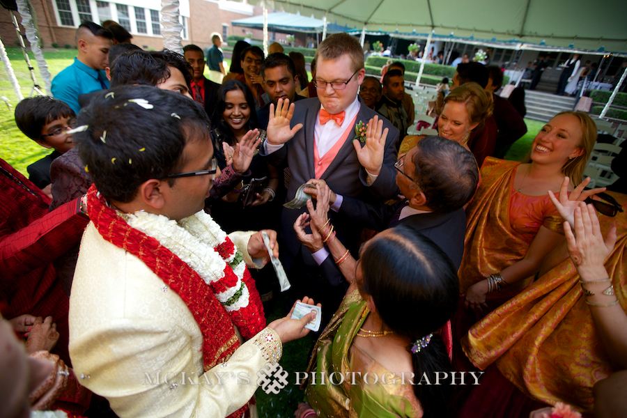 Catholic and Hindu wedding ceremony in Rochester NY