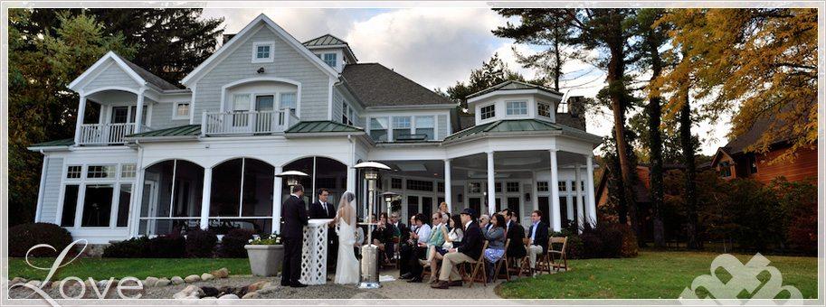 Small Canandaigua Lakeside Wedding by destination wedding photographer Heather McKay