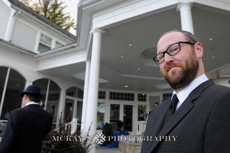 Small lakeside wedding on Canandaigua lake at Peaceful Sanctuary by Rochester's best wedding photographer, Heather McKay