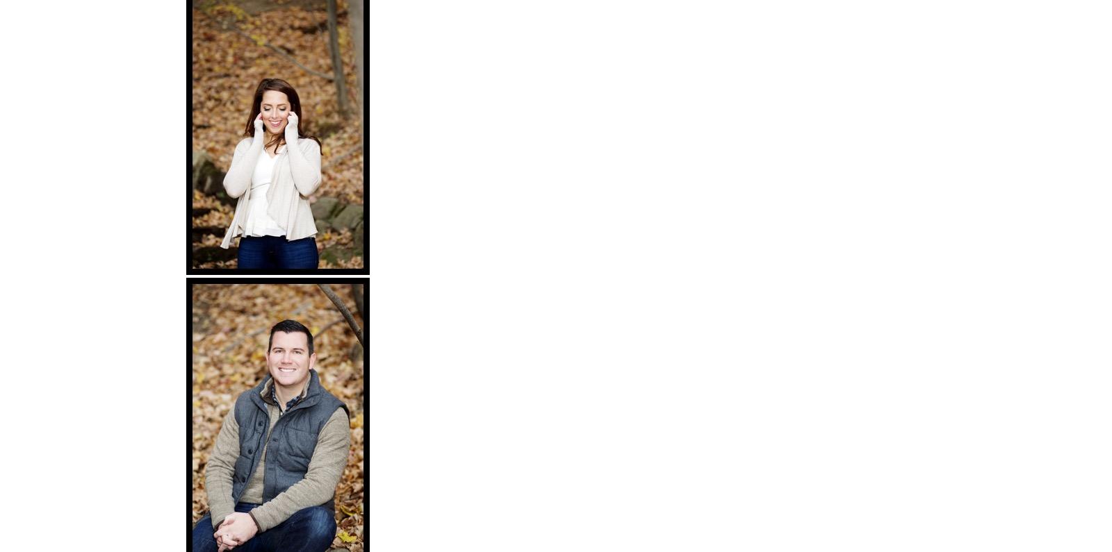 Letchworth engagement photos