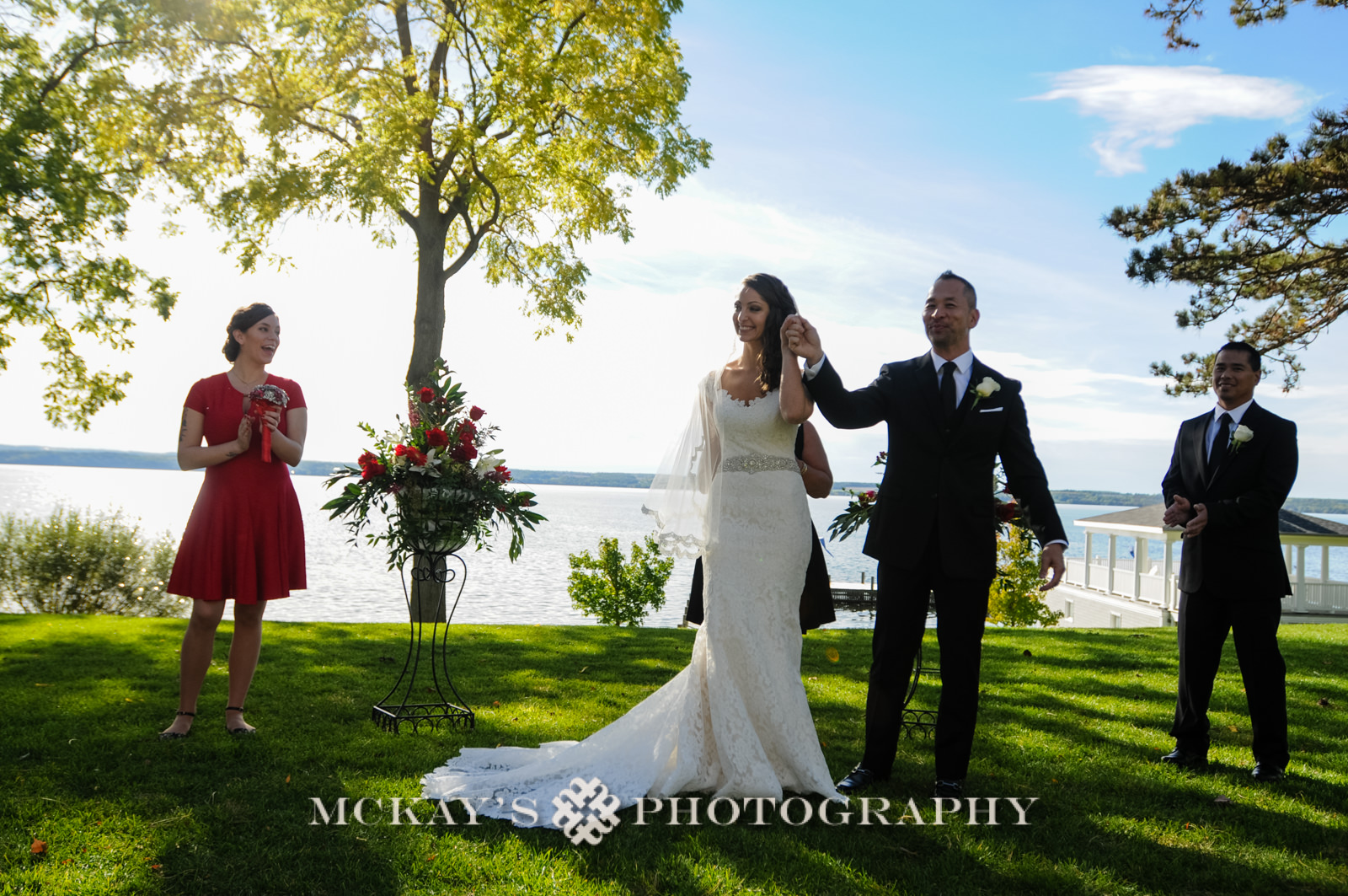 Lake wedding venues in the Finger Lakes