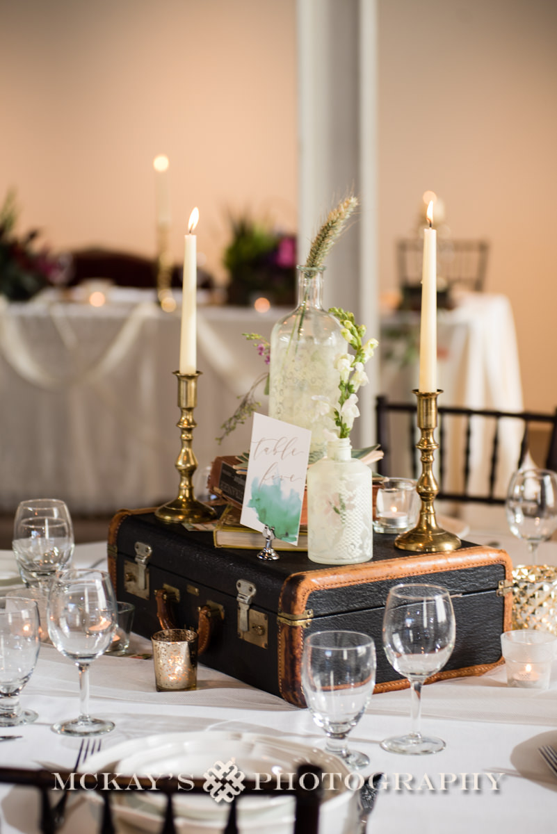Hohm Designs offers unique recycled table-scapes and decor rentals for your rustic Eco-Friendly wedding in Rochester NY.