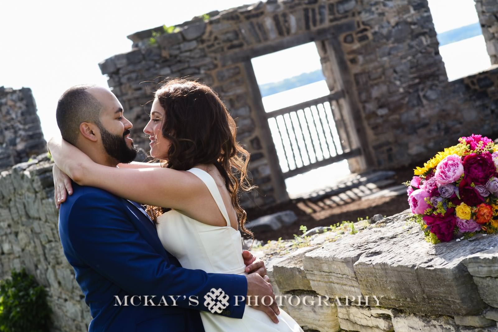 romantic wedding photography in the Finger Lakes