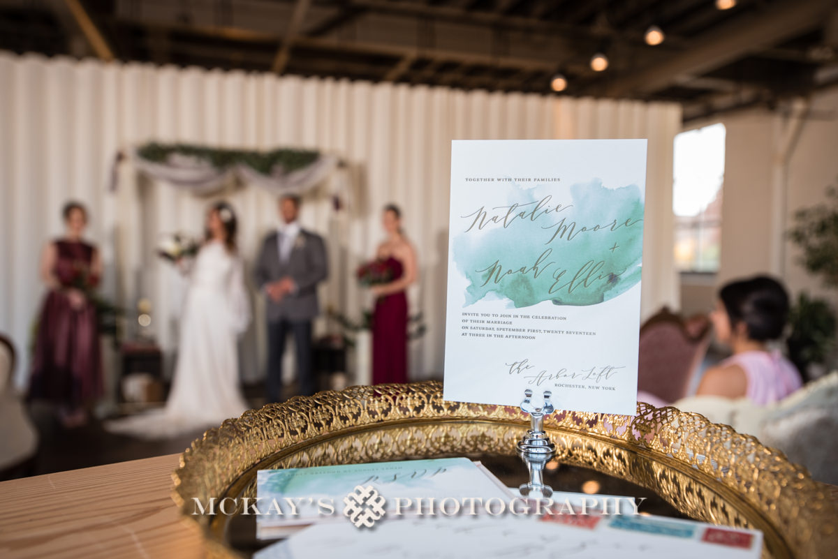 green weddings in Rochester NY