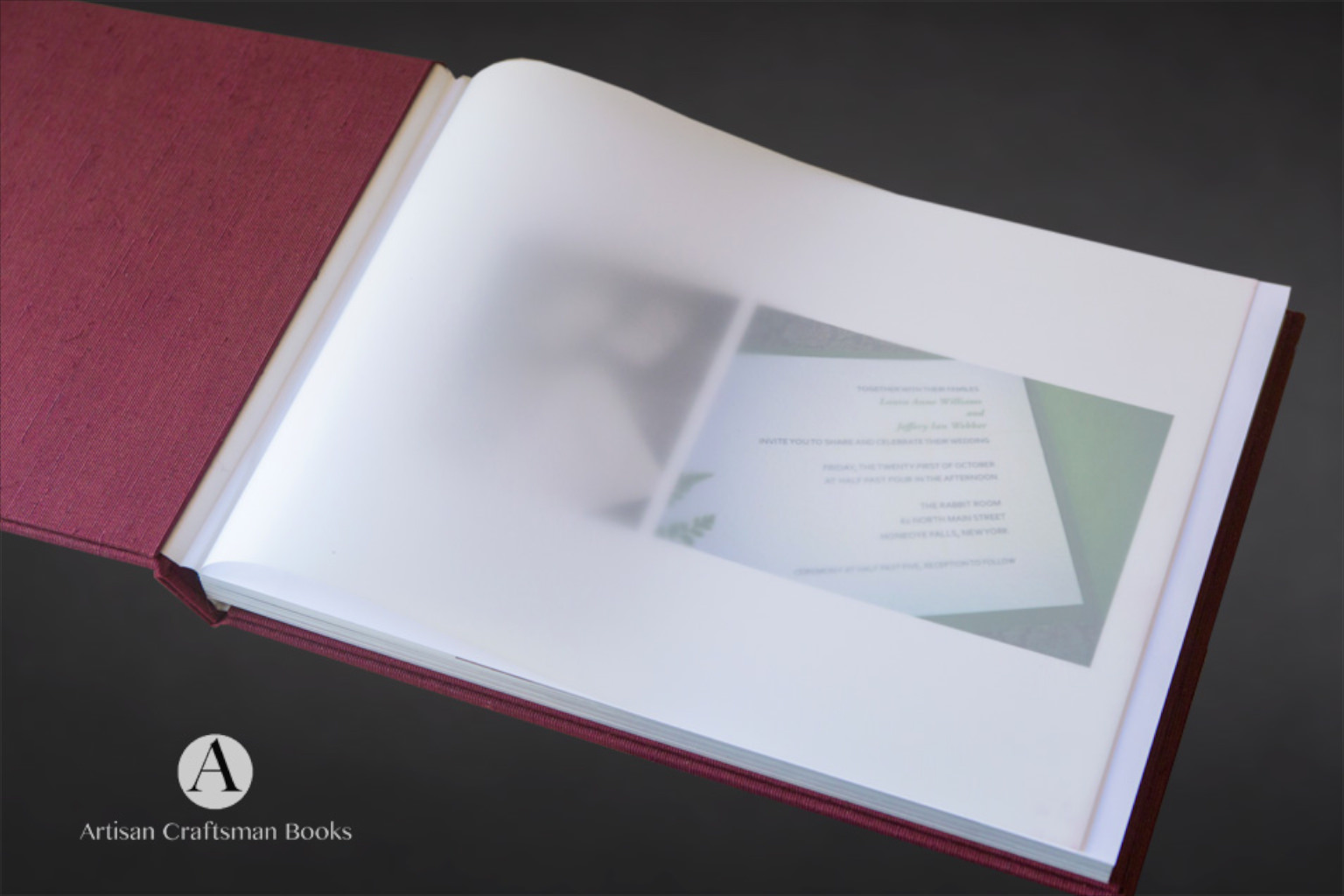 fine-art photography books with custom clamshell case