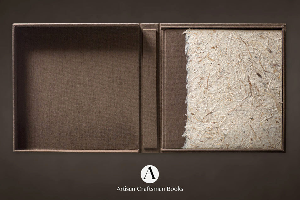 sustainable wedding albums by Artisan Craftsman Books and McKays Photography