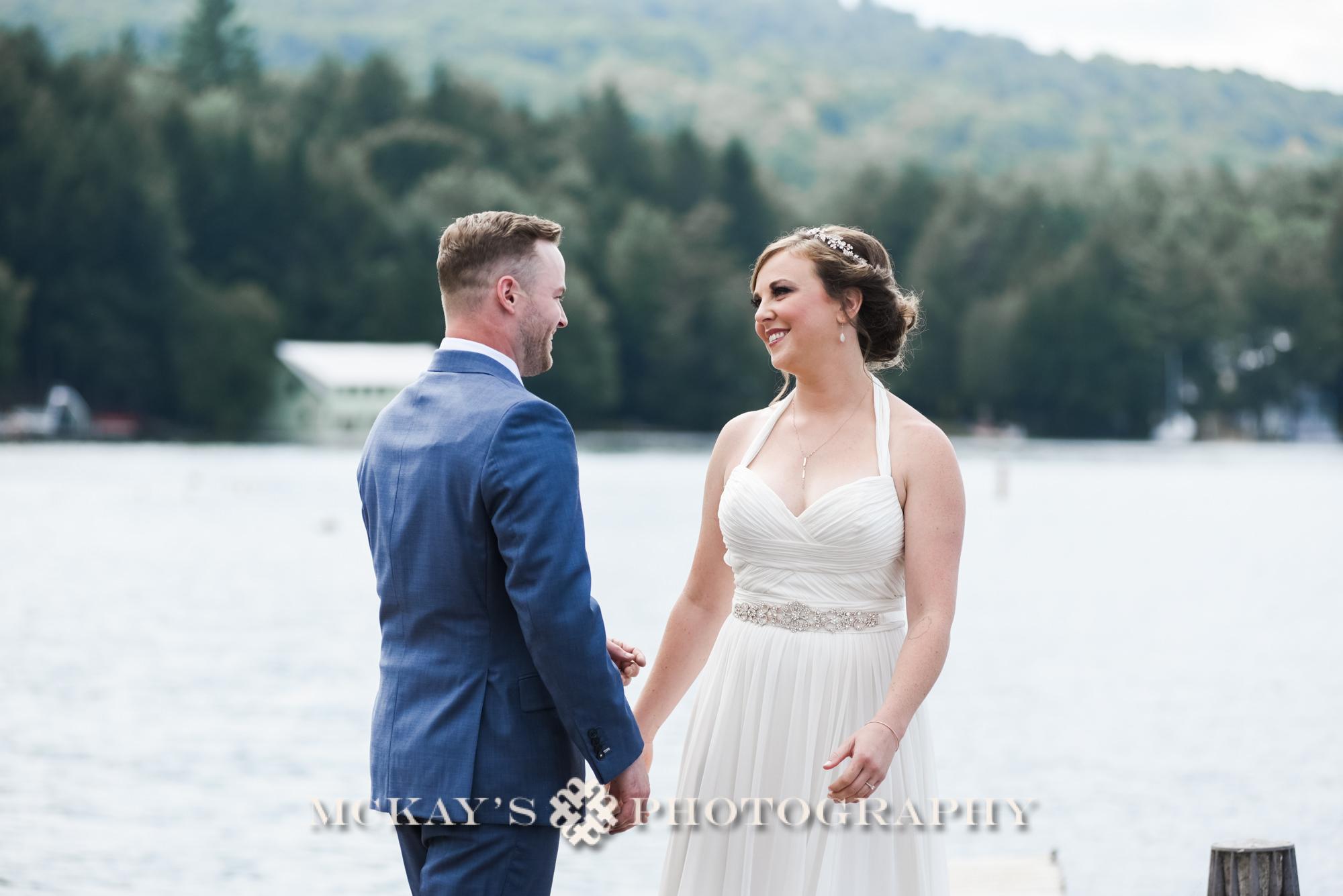 ADK wedding photographer Heather McKay