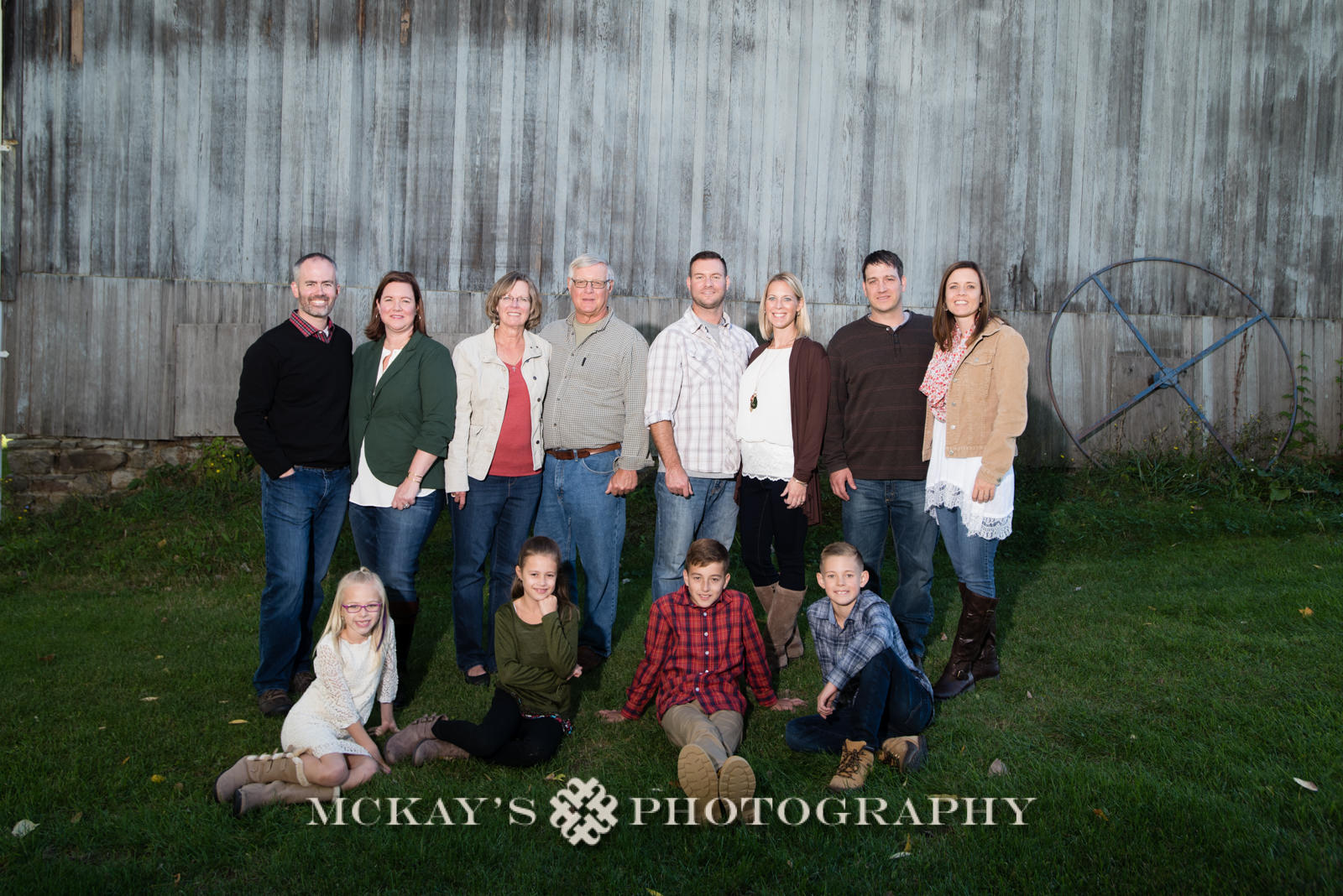 fun family photos in the Finger Lakes