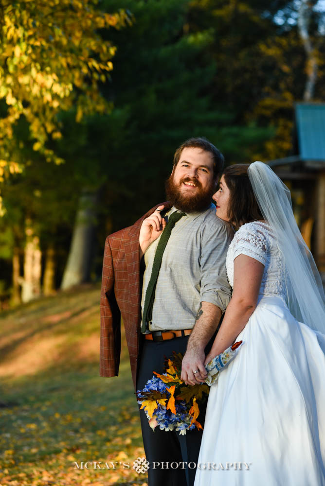 small weddings in the Adirondacks at Woods Inn