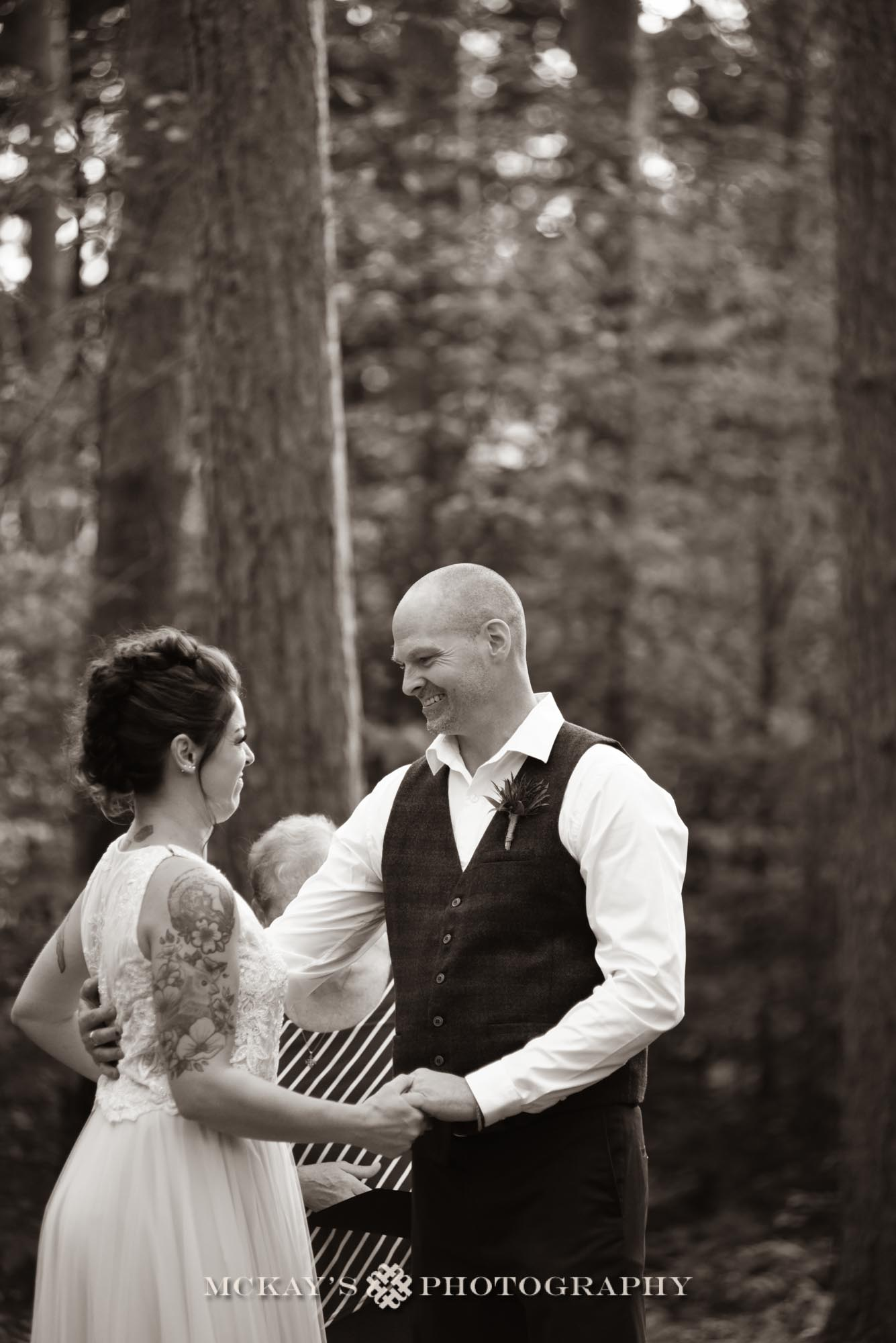 outdoor wedding venue Finger Lakes